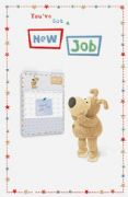 Boofle New Job Greeting Card